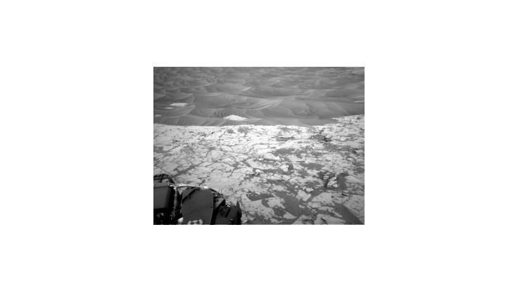 Sonda Curiosity zachytila na Marse metán, môže pochádzať z organizmov