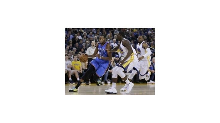Warriors prestrihli víťaznú šnúru Oklahomy, Durant nedohral