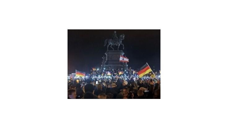 V Drážďanoch protestovali tisíce ľudí proti islamizácii Západu