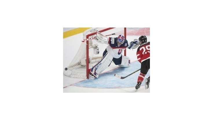 Slováci prehrali s Kanadou vysoko 0:8