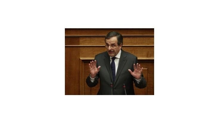 Grécky premiér vyzval poslancov, aby zabránili predčasným voľbám