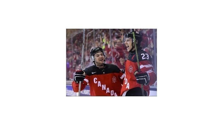 Kanada po dráme vo finále zdolala Rusko