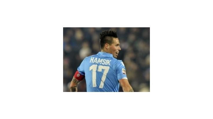 Hamšík prispel gólom k výhre Neapola v Cesene 4:1