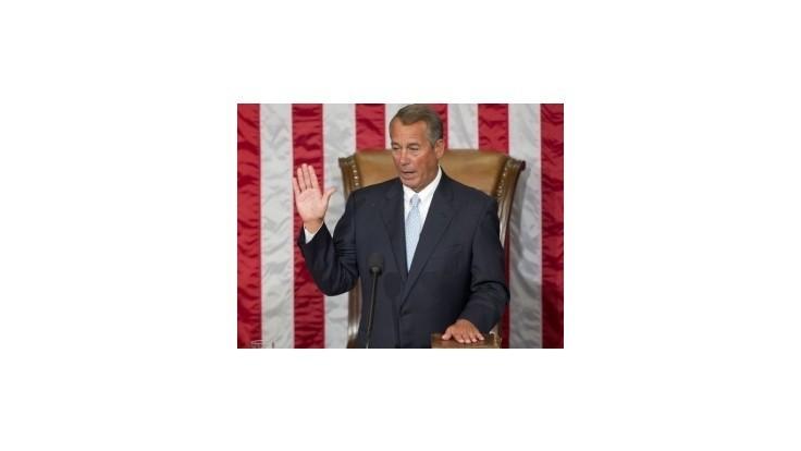 Republikána Boehnera opäť zvolili za predsedu Snemovne reprezentantov