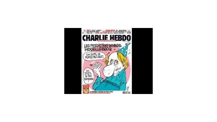 Poslednou témou Charlie Hebdo je kniha o islamskej vláde vo Francúzsku