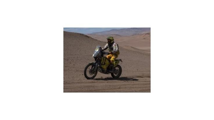 Skvelý Svitko skončil v 5. etape na Dakare štvrtý, už je v Top 10