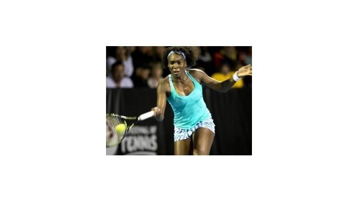 Venus Williamsová triumfovala na turnaji v Aucklande