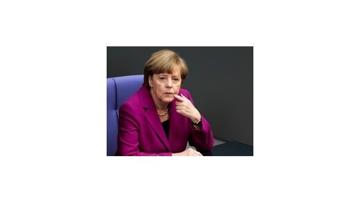 Merkelová navrhuje zlepšiť spoluprácu pri výmene informácií tajných služieb