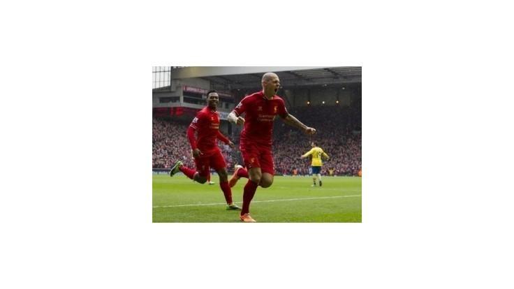 Liverpool pripomenul výročie príchodu Škrtela