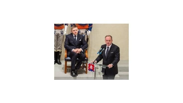 Fico nevidí žiadny dôvod na zlé vzťahy s prezidentom