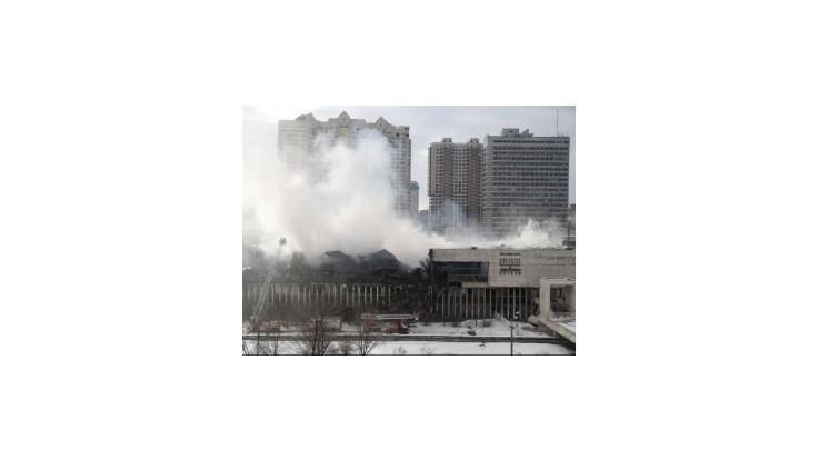 Požiar v knižnici Ruskej akadémie vied zničil mnohé cenné dokumenty