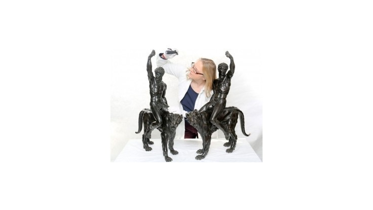 Vystavia sochy, ktorých autorom je zrejme Michelangelo