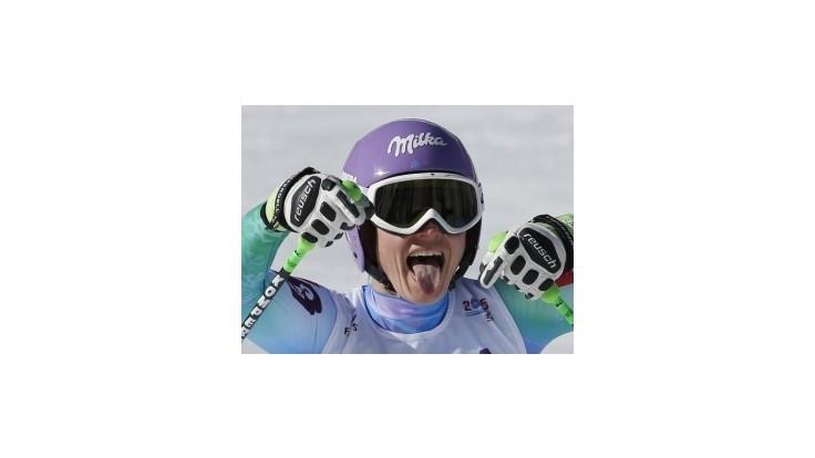 Mazeová má po olympijskom aj svetový titul v zjazde