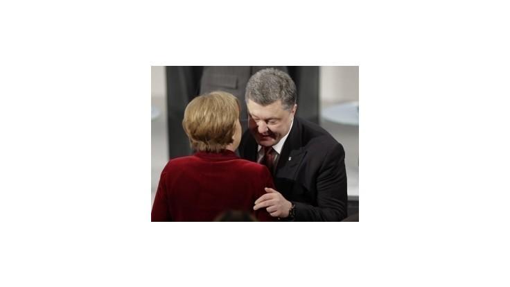 Francúzsko-nemecký návrh by mohol fungovať, tvrdí Porošenko