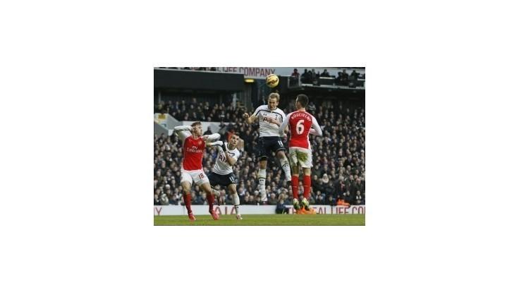 Tottenham otočil londýnske derby s Arsenalom vďaka dvom gólom Kanea
