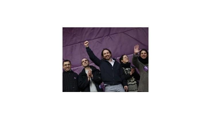 Podľa prieskumov vedie v Španielsku strana Podemos