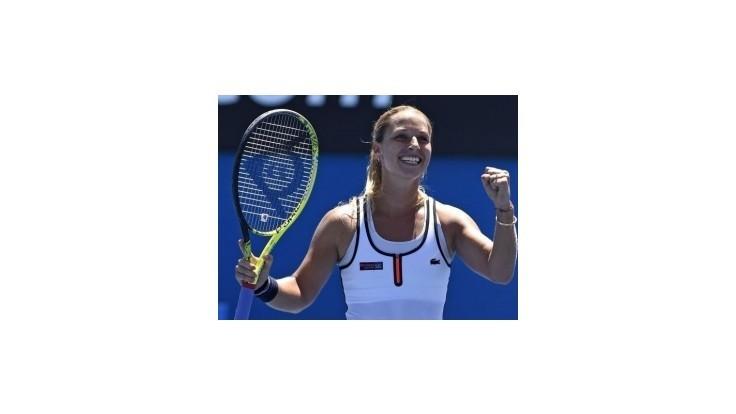 Cibulková postúpila do štvrťfinále dvojhry v Antverpách