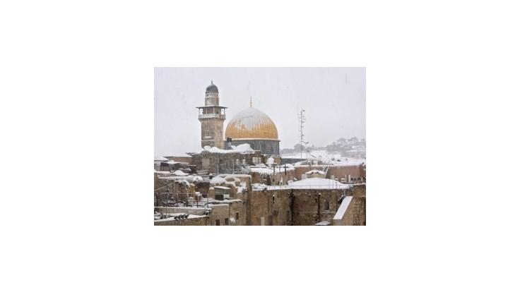 Blízky východ zaskočilo rozsiahle sneženie