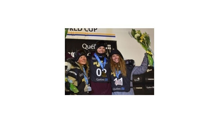 Medlová obsadila na pretekoch Svetového pohára v Kanade v disciplíne Big Air tretie miesto