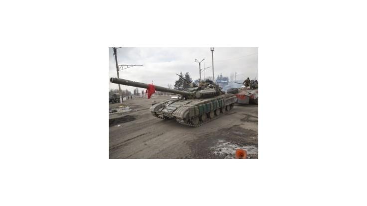 Ukrajinská armáda informovala, že z Ruska dorazili ďalšie konvoje obrnených vozidiel