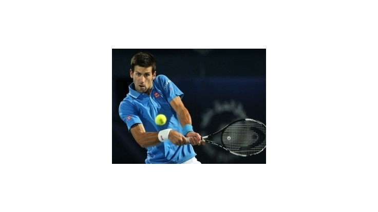 Djokovič hladko do semifinále turnaja ATP v Dubaji