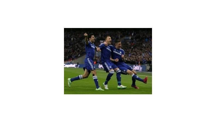 Chelsea zdolala Tottenham a získala Ligový pohár