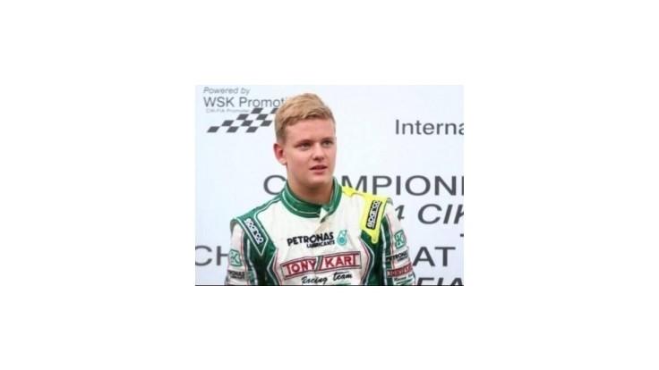 Schumacherov syn bude jazdiť formulu 4