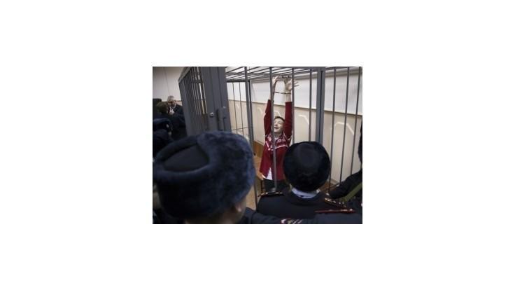 Ukrajinská pilotka Savčenková prerušila na odporúčania lekárov hladovku