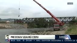 Žilinská radnica uzavrie cestu do mestskej časti, problémom je zosuv pôdy