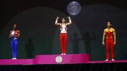 Japonský gymnasta získal rekordný titul majstra sveta