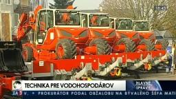 Vodohospodári dostali novú techniku na ochranu pred povodňami
