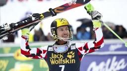 Hirscher v Slovinsku suverénne vyhral, Kristoffersen získal malý glóbus
