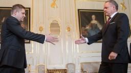 Prezident sa napokon stretol aj s Ficom, poveril ho zostavením vlády