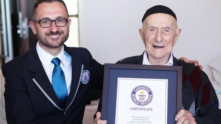Najstarší žijúci muž má 112 rokov, prežil aj koncentračný tábor