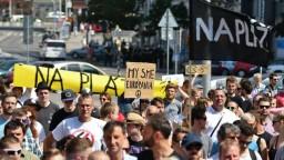 Antifašistický pochod v Bratislave prekonal extrémistov
