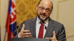 Slovensko môže byť symbolom spájania národov, tvrdí Schulz