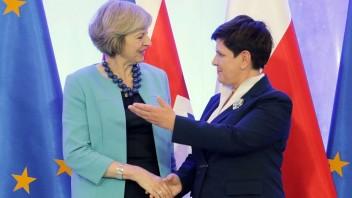 Brexit posilní britsko-poľské vzťahy, vyhlásila Mayová vo Varšave