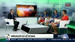 HOSŤ V ŠTÚDIU: Bratranci Škantárovci a M. Beňuš o olympijských hrách