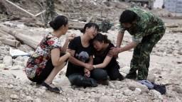 KĽDR čelí mohutným záplavám, stovky ľudí sú nezvestné