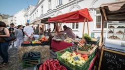 Bratislavou sa niesli dobrá hudba i vôňa jedla. Konal sa Dobrý trh