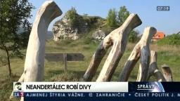Neandertálec preslávil Gánovce, priťahujú sochárov z celej Európy