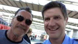 Schwarzenegger v Nemecku porušoval predpisy, zaplatil fotografiou