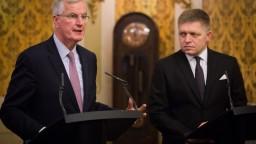 Fico rokoval s hlavným vyjednávačom Únie v otázke Brexitu