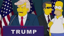 Simpsonovci pred rokmi predpovedali Trumpov úspech vo voľbách