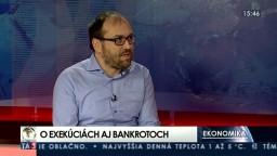 HOSŤ V ŠTÚDIU: R. Pala o exekúciách aj bankrotoch