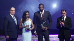 V Monaku rozdávali ocenenia pre atlétov, Bolt získal šieste v poradí