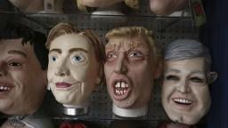 Japonci si môžu kúpiť masky politikov, žiadaný je najmä Trump