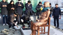 Japoncov pohoršila provokatívna socha, z Južnej Kórey stiahne diplomata