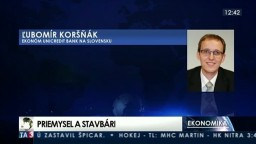 HOSŤ V ŠTÚDIU: Ľ. Koršňák o slabšom výkone priemyselných firiem