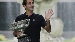 Federer oslavoval zisk 18-teho grandslamového titulu